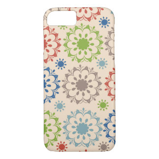 Brightly Colored Medallion Design iPhone 7 Case