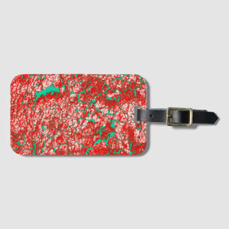Brightly Colored Unique Cool Luggage Tag