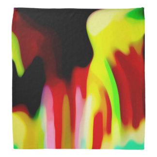 Brightly Colorful Multi-Color Pattern Bandana