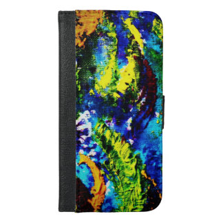 Brightly coloured arches sideways iPhone 6/6s plus wallet case
