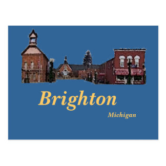 Brighton#56, Brighton, Michigan Postcard
