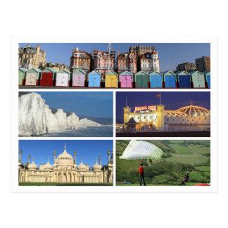 Brighton and Hove multi-image Postcard
