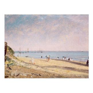 Brighton Beach (oil on canvas) Postcard
