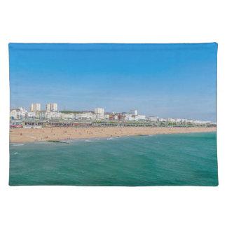 Brighton beach placemat