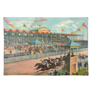 Brighton Beach Racetrack 1887 Placemats