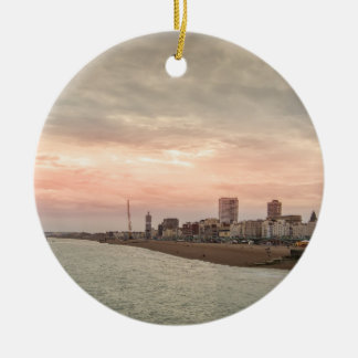 Brighton cityscape ceramic ornament