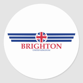 Brighton Classic Round Sticker