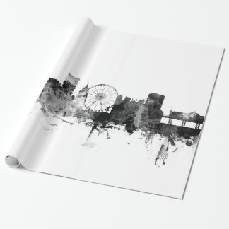 Brighton England Skyline Wrapping Paper
