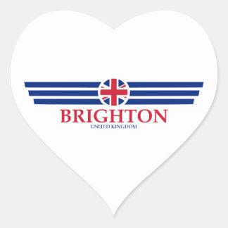 Brighton Heart Sticker