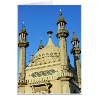 Brighton Pavilion Detail Card
