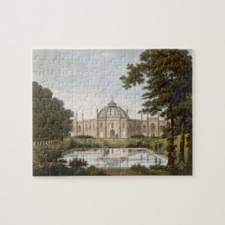 Brighton Pavilion: Proposed view of the garden wit Jigsaw Puzzle