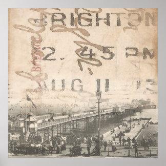 Brighton Pier 1913 Poster