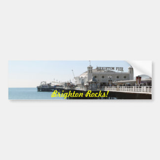 Brighton Rocks Sticker Bumper Sticker