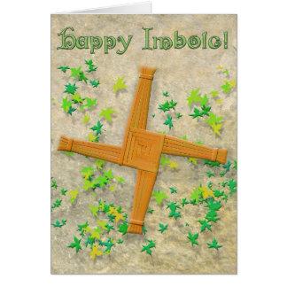 Brigid Cross Card