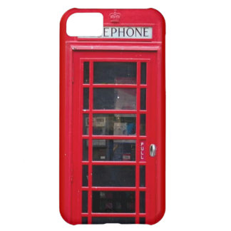 Briitish Telephone Booth for Iphone cover Cover For iPhone 5C