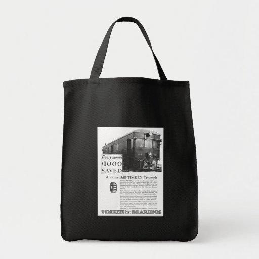 Brill Company 1926 M-1 Gas Electric Car Tote Bag