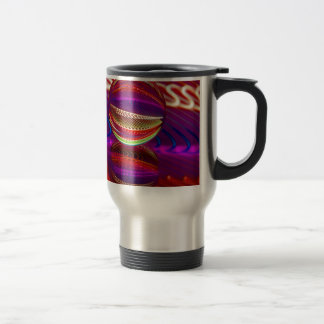 Brilliance in the crystal ball travel mug