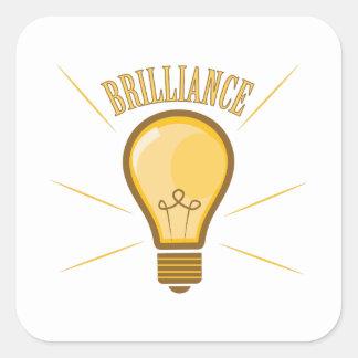 Brilliance Square Sticker