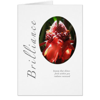 Brilliance Torched Ginger Card