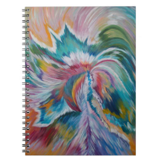 Brilliant Abstract Angel Personal Notebook