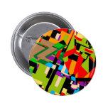 Brilliant Abstract Design 2 Inch Round Button