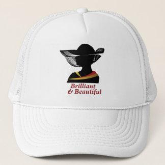 Brilliant and Beautiful Woman Trucker Hat