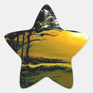 Brilliant Arches Star Sticker