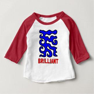 """Brilliant"" Baby 3/4 Raglan T-Shirt"