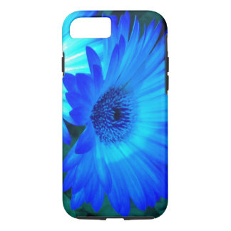 Brilliant Blue Daisy iPhone 7 case