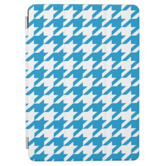 Brilliant Blue Moods Houndstooth iPad Air Cover