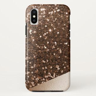 Brilliant Bronzed Faux-Glitter & Brushed Foil Case-Mate iPhone Case
