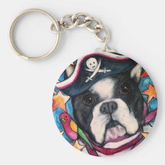 Brilliant Bulldog Keychain
