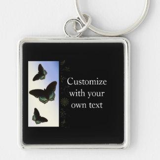 Brilliant Butterflies Keychain
