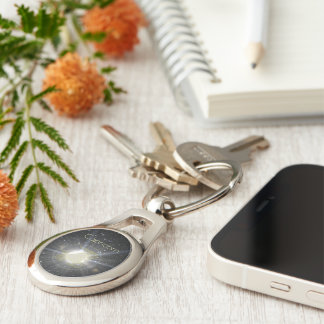 Brilliant Capricorn Keychain