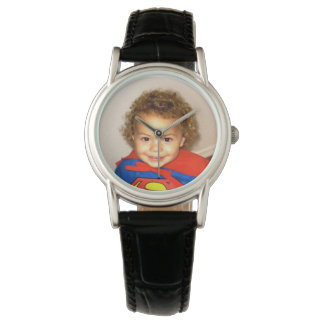 Brilliant Color Custom Photo Watch