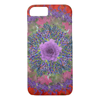 Brilliant Fall Reds and Purples iPhone 7 Case