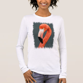 Brilliant Flamingo Long Sleeve T-Shirt
