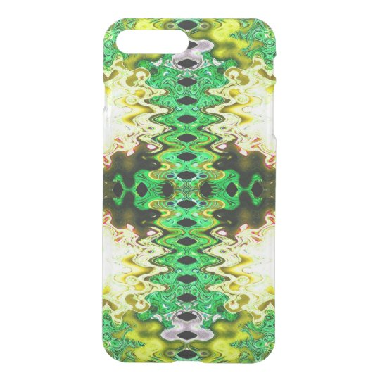Brilliant Green Yellow Abstract iPhone 8 Plus/7 Plus Case