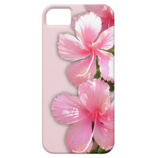 Brilliant Pink Hawaiian Hibiscus Flowers iPhone 5 Cover