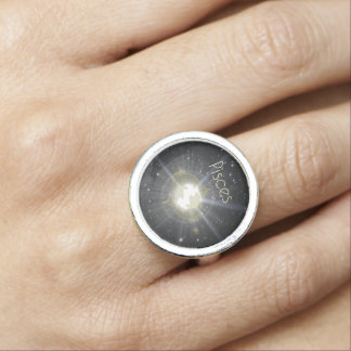Brilliant Pisces Photo Rings
