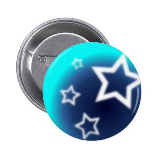 Brilliant Star 2 Inch Round Button