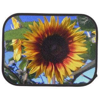 Brilliant Sunflower Car Mat