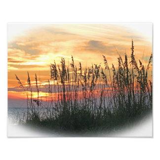 Brilliant Sunset Photographic Print