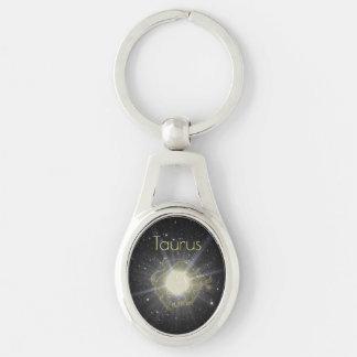 Brilliant Taurus Keychain