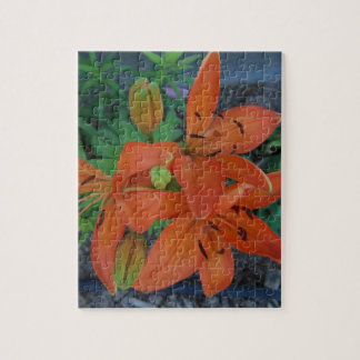 Brilliant Tiger Lily Jigsaw Puzzle