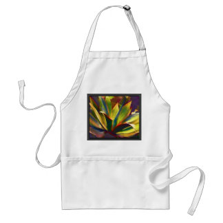 Brilliant Tropical Agave Plant Standard Apron