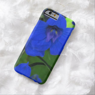 Brilliiant Blue Delphinium Barely There iPhone 6 Case