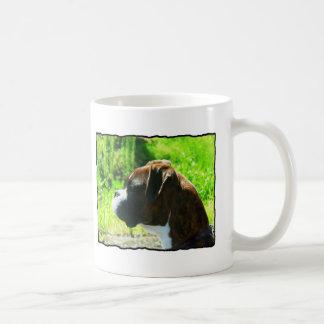 Brindle Boxer Head study Coffee Mug