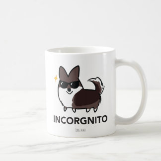 Brindle Cardigan Corgi Incorgnito Mug