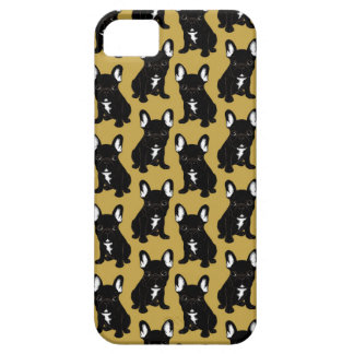 Brindle French Bulldog Case For The iPhone 5